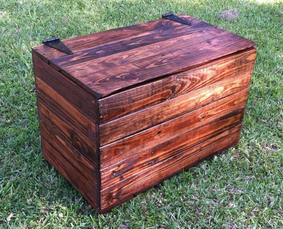 Rustic Reclaimed Trunk Reclaimed Rustic Toy Box Reclaimed Hope Chest Rustic Coffee  Table Reclaimed Rustic Bench Pallet Wood   Red Oak