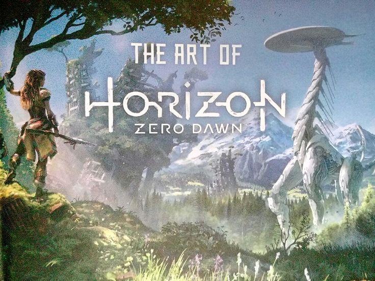 Front #HorizonZeroDawn #artbook