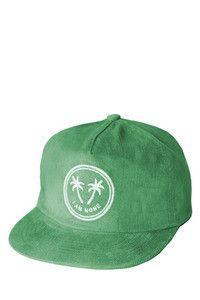 I Am None - Palm Logo Hat - Green