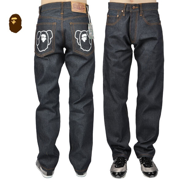 Picture 5 -  #Bape jeans for men.