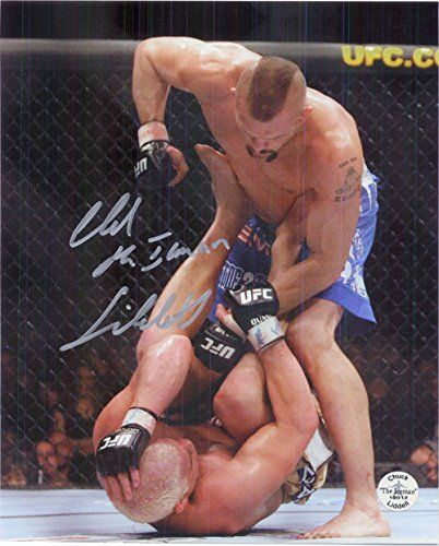 Signed Liddell, Chuck 8x10 Photo autographed