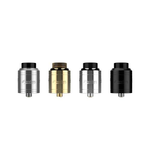 Geekvape Peerless RDA Atomizer Special Edition  Peerless features an original build deck design that is made to fit large builds with an added  post hole to support smaller coils. It also comes with a squonk pin for Squonk MOD.