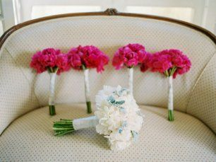 Букет невесты и подружек невесты