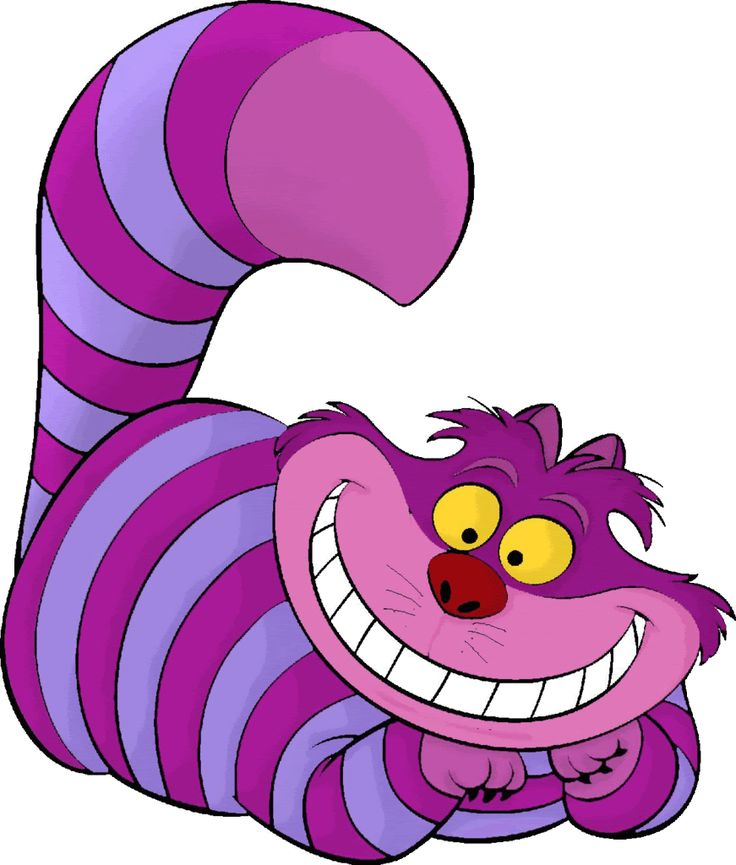 Its a crazy world!: Grinning Like A Cheshire Cat!