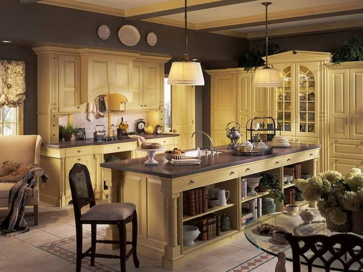 country french kitchen design ideas - French Kitchen Design Ideas