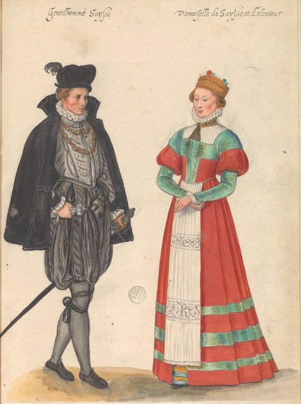 Lucas D'Heere costume book