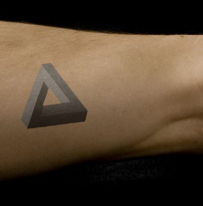 Penrose triangle concept tattoo by ~Lemonmouth on deviantART