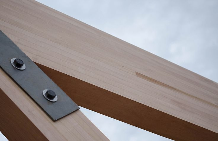 10 ideas sobre vigas de madera laminada en pinterest for Alquiler chiringuito madera