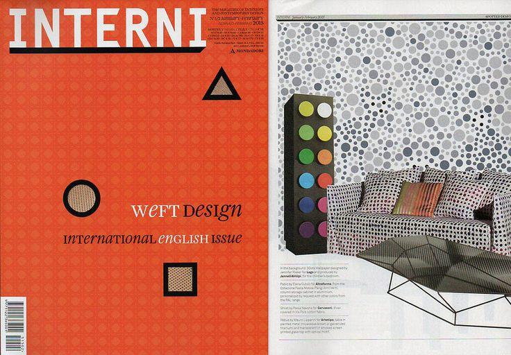 #Pablo cabinet, #AMoveableFeast collection, design by Elena Cutolo for #altreforme, published on INTERNI #Italy, january 2015, #interior #home #decor #homedecor #furniture #aluminium #woweffect