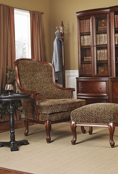 Adelaide Wingback Chair & Ottoman | Bombay Canada