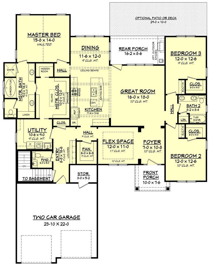 Cottonwood House Plan
