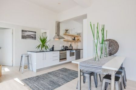 Dining room table - Kitchen Instow Cottage, Dorchester, 271 High Level Road, Sea Point, Cape Town, 8005, 2014