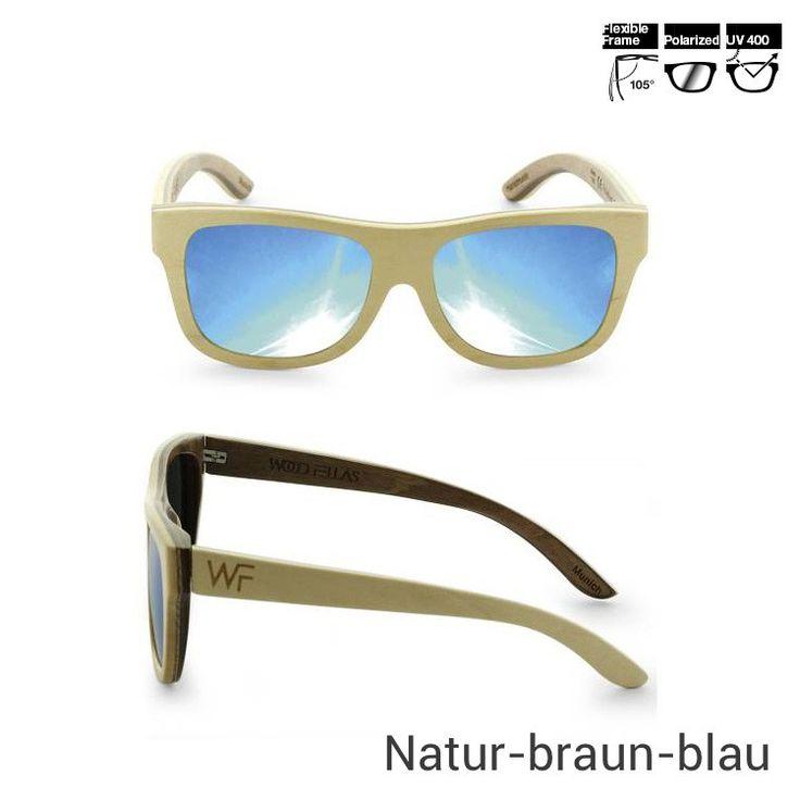 Wood Fellas Sonnenbrille aus Holz - Jetzt reduziert bei Lesara
