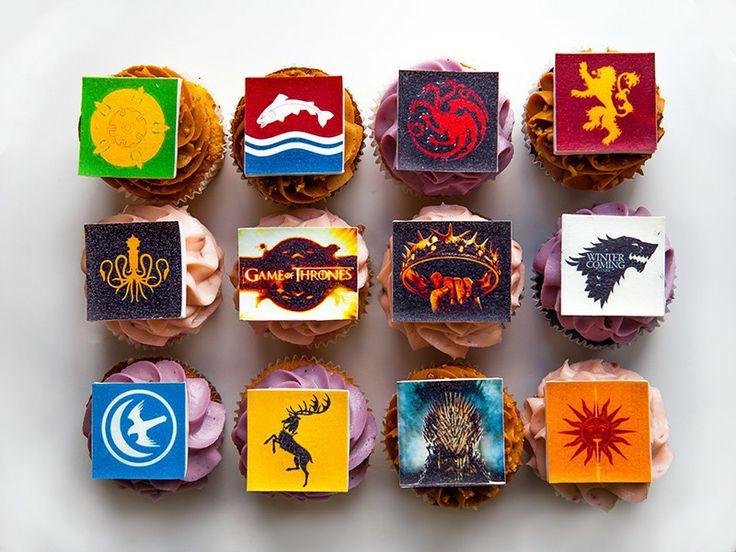 "Капкейки ""Игра Престолов"" (""Game Of Thrones"" cupcakes) - Выпечка на заказ"