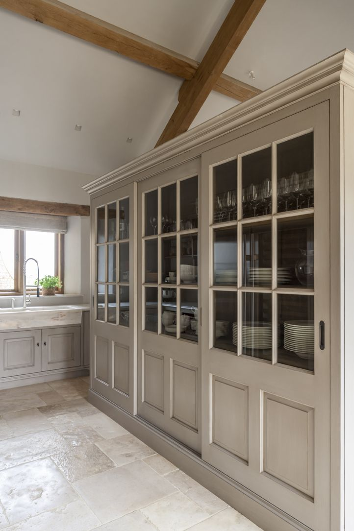 Bespoke modern rustic kitchen designed by www.artichoke-ltd.com