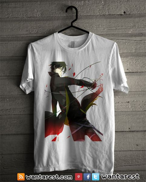 15 best Darker than Black anime t-shirts images on Pinterest ...