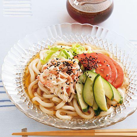 冷やし中華風うどん | 吉田瑞子さんのうどんの料理レシピ | プロの簡単料理レシピはレタスクラブニュース