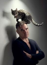 Morrissey's cat hat