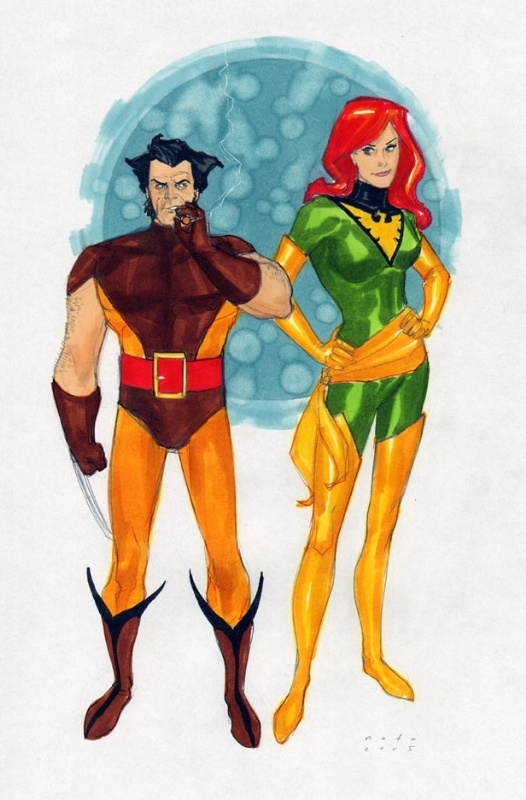Logan and Jean by Phil Noto #XMen #Wolverine