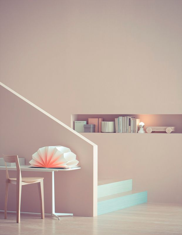 LET'S STAY: Beautiful Pastel Interiors
