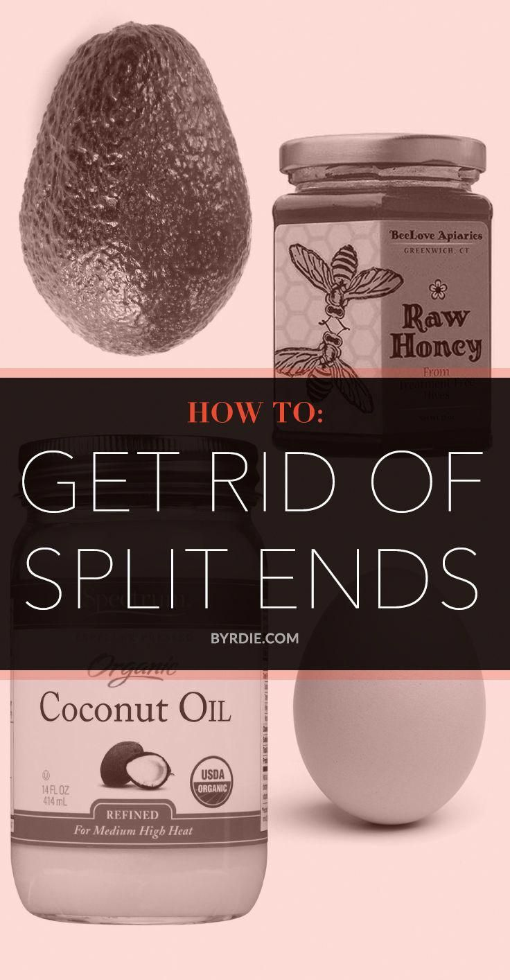 You cannot get rid of split ends with any product! Once