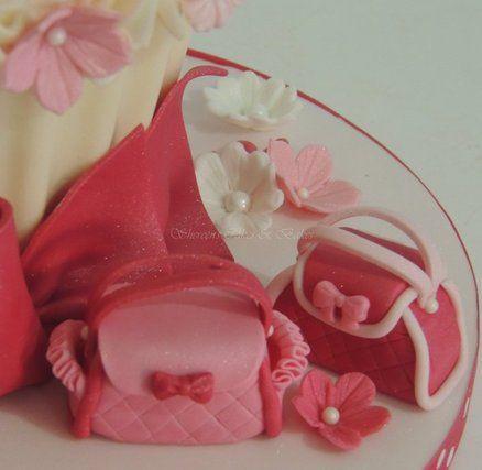Giant Cupcake wiht Mini Bags