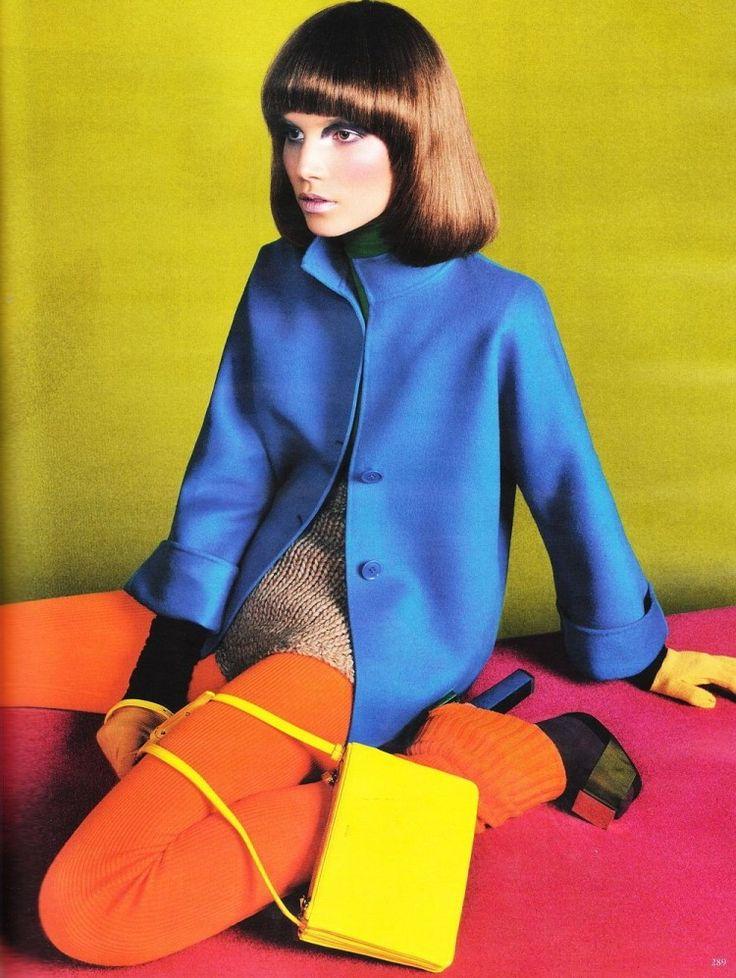 ROYGBIV - Cotton Candy LA #rainbow #fashion #editorial SUVI KOPONEN BY SEBASTIAN KIM FOR VOGUE GERMANY