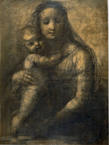 18 Dec: With just one week to go, here is a special drawing – Raphael's Virgin and Child