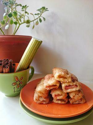 My favorite book of desserts: Печенье с ревенем