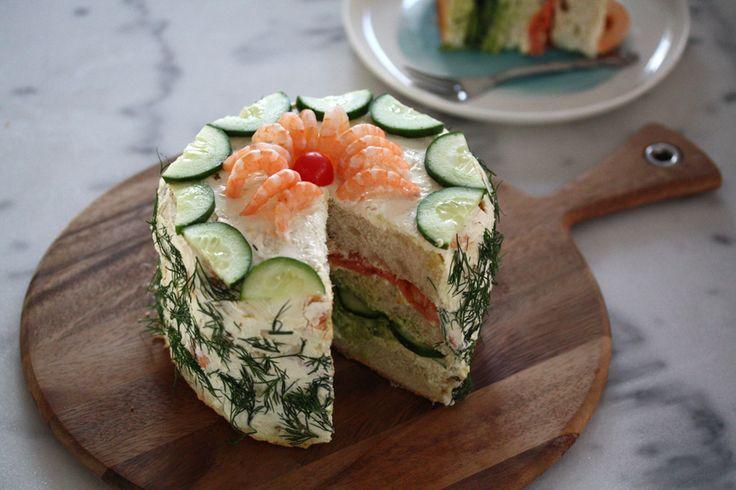 Smorgastata: the Swedish sandwich cake! - MsCritique – An Australian Lifestyle, Travel, Food and Beauty Blog