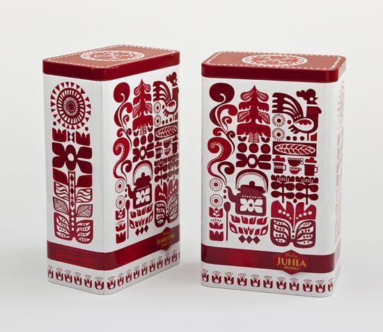 Paulig Coffee: Package Design, Sanna Annukka, Packagingdesign, Tins, Packaging Design, Graphics Design, Coffee Packaging, Coff Packaging, Sannaannukka