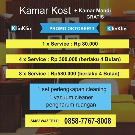 KlinKlin - Jasa Bersih Cleaning Service #1 Indonesia