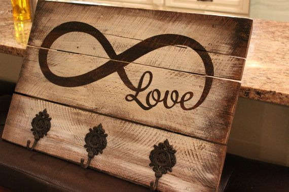 Hey, I found this really awesome Etsy listing at https://www.etsy.com/listing/188818828/infinity-love-rustic-wooden-sign-with