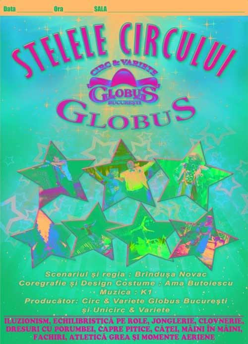 Circul Globus Bucuresti face din nou spectacol in Baia Mare