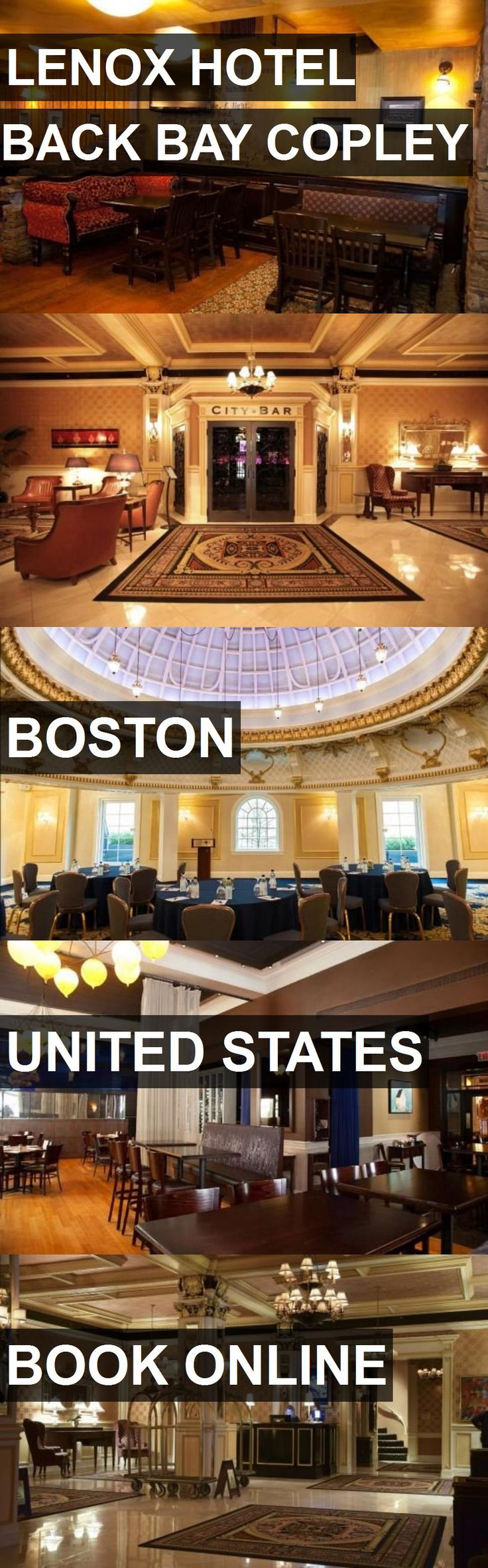 Hotel LENOX HOTEL BACK BAY COPLEY in Boston, United States. For more information, photos, reviews and best prices please follow the link. #UnitedStates #Boston #LENOXHOTELBACKBAYCOPLEY #hotel #travel #vacation