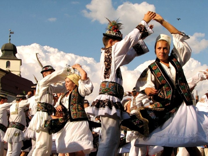 Romanian Traditional Dance.