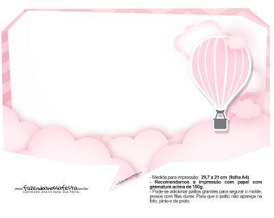 Pembe Uçan Balon Temalı Ücretsiz Pankart - Neşeli Süs Evim - Ücretsiz Doğum Günü Süsleri