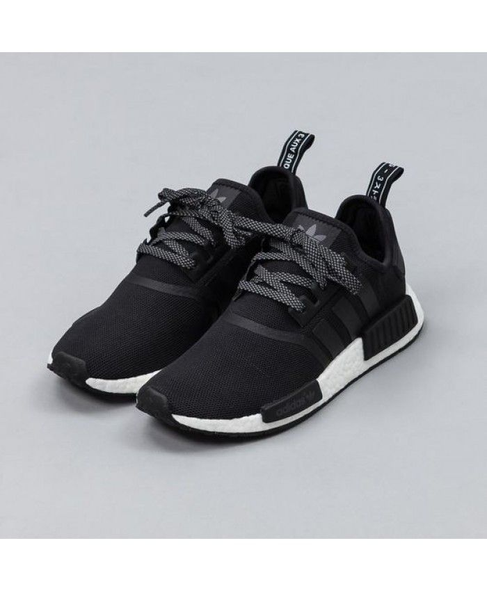 7f835ed5c Adidas NMD R1 Runner Trainers in Core Black