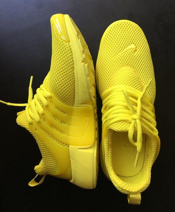 Yellow Nike Presto Custom | Yellow