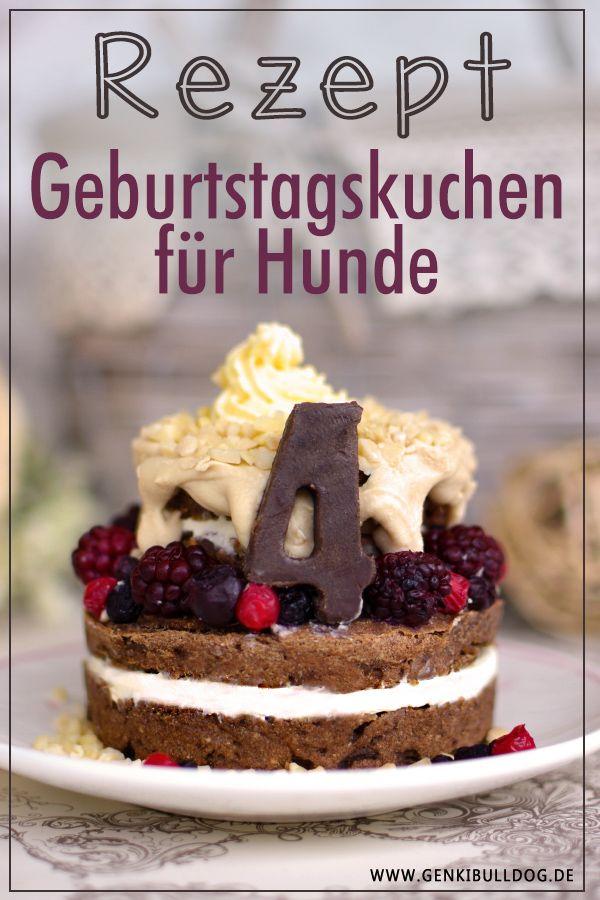 Geburtstagskuchen für Hunde www.genkibulldog.de
