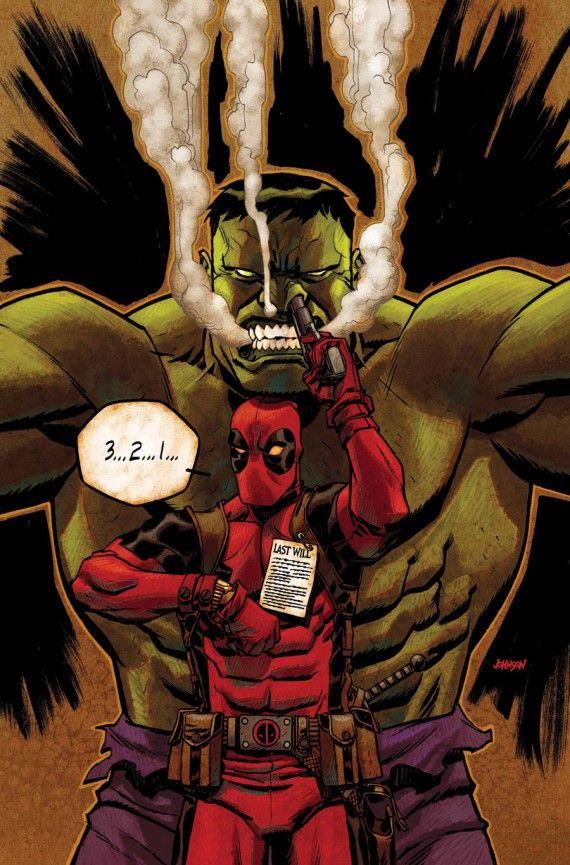 Deadpool vs Hulk #02