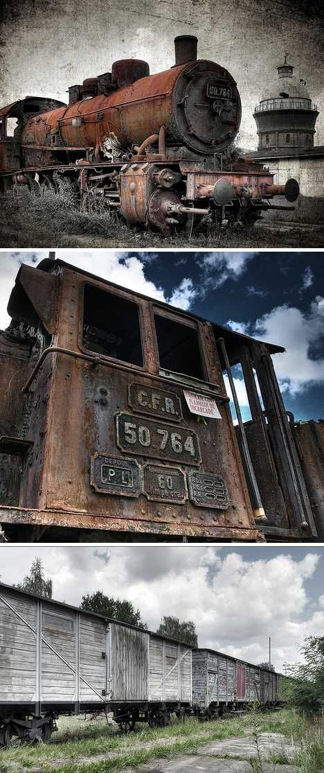 Railroaded: 9 Nifty Abandoned Train Car Graveyards Germany