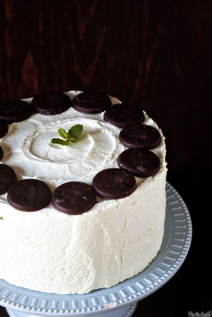 Another mint recipe for Bret...grasshopper cake