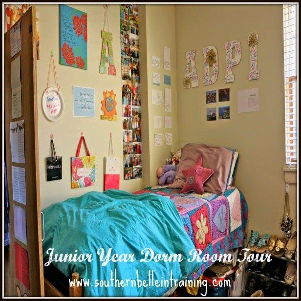Junior Year Dorm Room Tour!  Belle, Dorm and Room decor ~ 063030_Southern Dorm Room Ideas