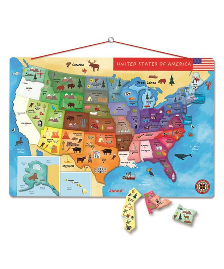 Best Gift Guide Cute Kiddos Images On Pinterest - Cute map of us