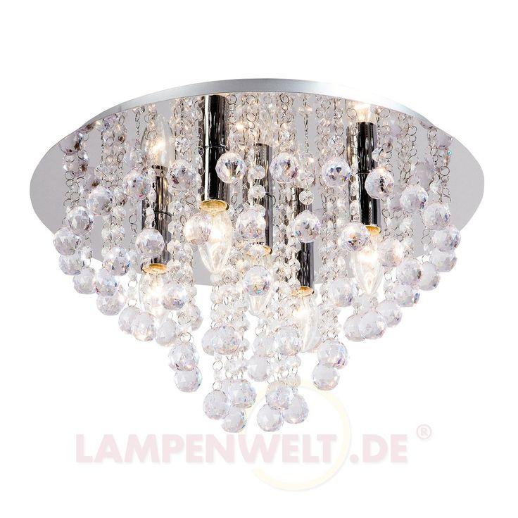Glänzende Deckenleuchte Linden 5-flg. 7007376