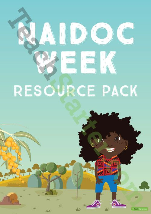 Teaching Resource: A 31 page resource pack of posters, worksheets and activities to use in your classroom during NAIDOC Week.