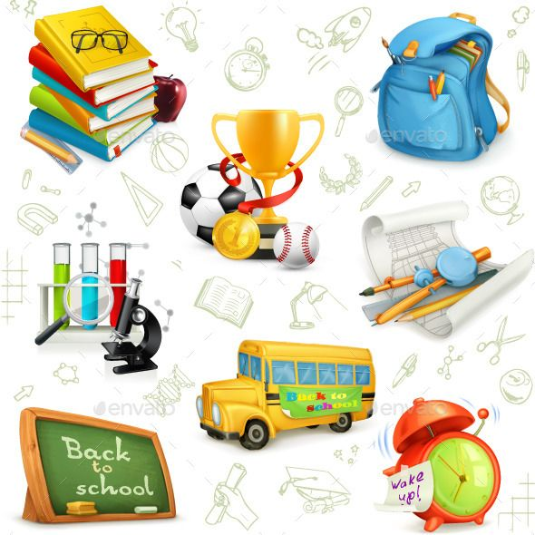 Education Icons - Miscellaneous Vectors