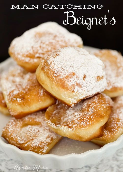 Ashlee Marie: Tiana – Man Catching New Orleans Beignets - these are ah.may.zing!!!