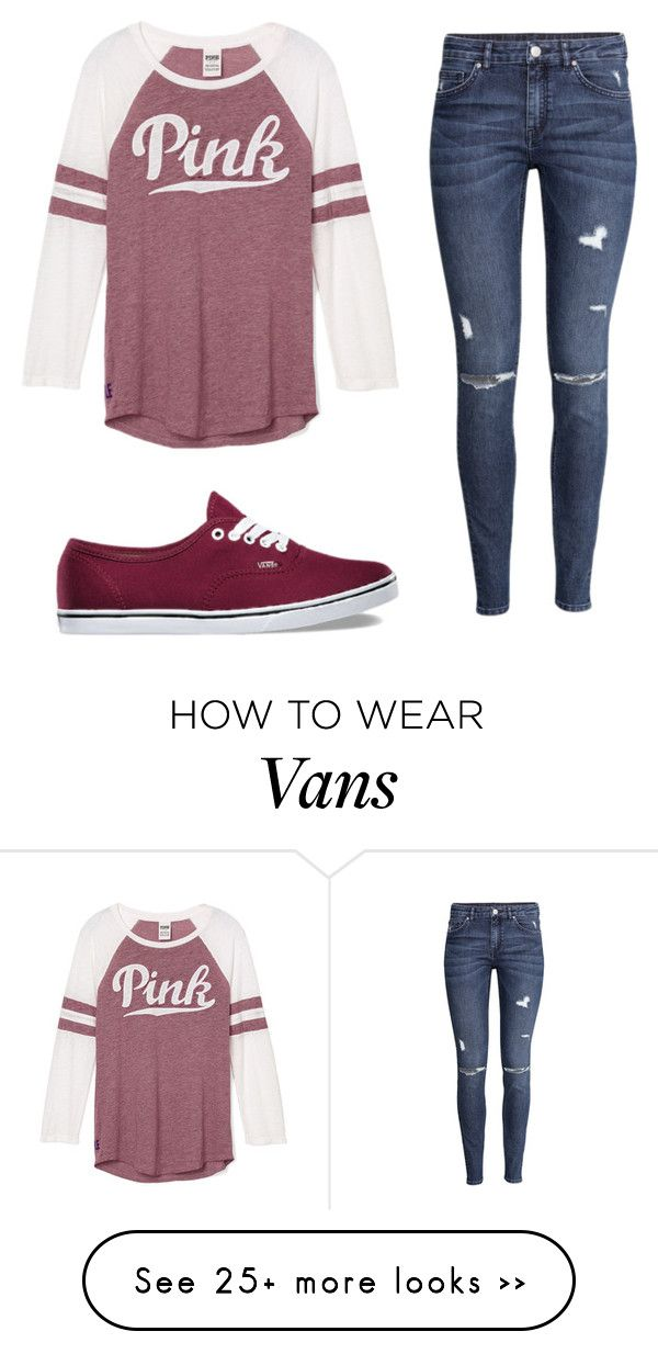 """""""Name Contest"""" by kayleecat124 on Polyvore featuring мода, H&M и Vans"""